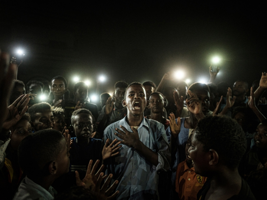 LA FOTO VINCITRICE DEL WORLD PRESS PHOTO 2020 È STATA SCATTA A KHARTUM, SUDAN, IL 19 GIUGNO 2019